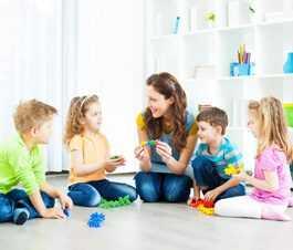 Themen-Foto Kinderbetreuung